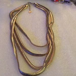 Vintage mesh Craziano Kaye's necklace